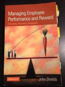 Managing Employment Performance and Reward Lidcombe Auburn Area Preview