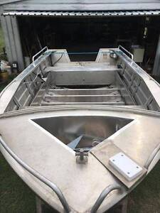 Aluminium Boat repairs and modifications Chandler Brisbane South East Preview