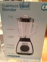 Contempo Stainless Steel Blender 500 W St Clair Penrith Area Preview