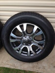 2016 Ford Ranger Wildtrack Wheels & Tyres Alberton Port Adelaide Area Preview
