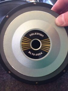 CELESTION BL10-200X speakers (pair) St Clair Penrith Area Preview