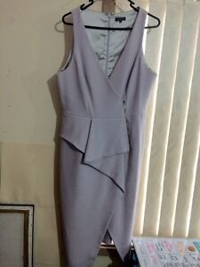 Lilac Purple Fitted Sheike Dress Guildford Parramatta Area Preview