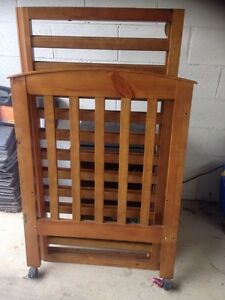 Wooden Cot Hampton East Bayside Area Preview