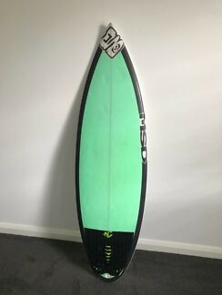 MSD custom surf board for sale 4 10""
