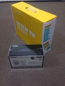 Fetch Tv box and D-Link PowerLine AV500 Five Dock Canada Bay Area Preview