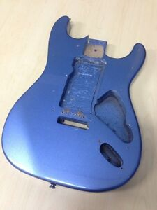 STRATOCASTER GUITAR BODY, BRIDGE & LOADED PICKGUARD Randwick Eastern Suburbs Preview