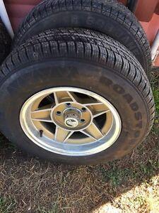 14 inch ford wheels Brighton Brighton Area Preview