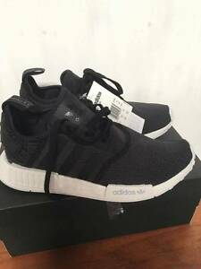 Adidas NMD R1 Women's US Size 8 - Black and White Mesh Marrickville Marrickville Area Preview