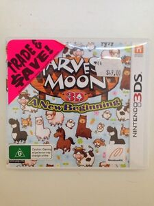 Harvest moon a new beginning game Cannon Hill Brisbane South East Preview