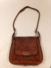 Vintage tooled leather hand bag Indooroopilly Brisbane South West Preview