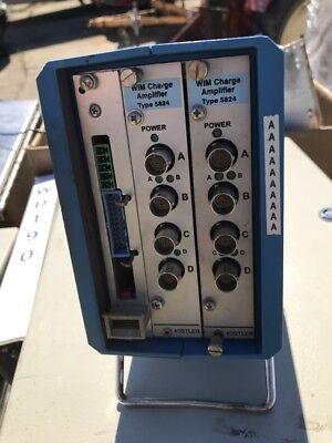 Wim Charge Amplifier 5824 For Accelerometer Pressure Kistler Swiss