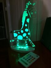 Aloka giraffe nightlight Woolloongabba Brisbane South West Preview