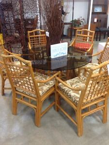 LOVELY CANE 7PCE DINING - $349/SET! Palm Beach Gold Coast South Preview