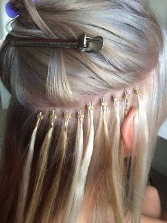 Micro bead hair extensions in melbourne region vic gumtree 180full head 100pcs itipsmicro beads extensionsapplication pmusecretfo Image collections