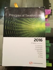 Income tax kit 2016 (LAW2400) & study guide West Perth Perth City Area Preview