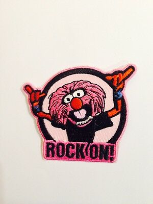 ANIMAL THE MUPPETS DRUMMER ROCK ON ! ☆  Iron On Patch / Motif Costume  - Animal Muppets Costume