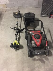 Mower and Line Trimmer package Mitchelton Brisbane North West Preview