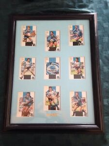 2005 framed sharks player cards Redbank Plains Ipswich City Preview