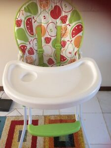 Baby high chair almost new Parafield Gardens Salisbury Area Preview