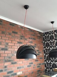 Trendy black ceiling lights Iluka Joondalup Area Preview