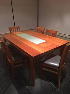 Solid Blackwood Dining Table Sandy Bay Hobart City Preview