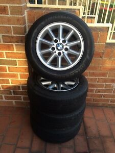 Set of BMW tyres size 205/60R15 Green Valley Liverpool Area Preview