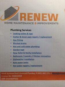Renew plumbing Fadden Tuggeranong Preview