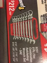 New Gearwrench Flex Head Imperial SAE Gear Spanners RRP $212 North Narrabeen Pittwater Area Preview