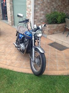 Kawasaki Kz 400  1975 custom chopper bobber bro harely Davidson Warners Bay Lake Macquarie Area Preview