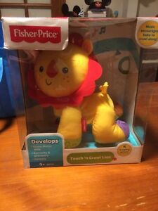 Fisher price crawling lion Bellevue Heights Mitcham Area Preview