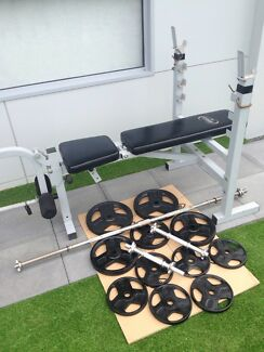 Weight bench-can deliver