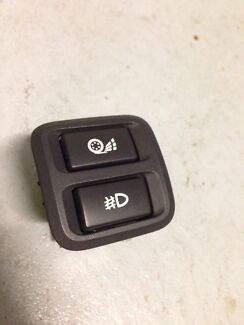 XR6T foglight / traction control switch & BA BF interior parts