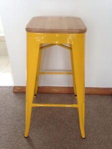 X4 yellow bar stools- brand new Devonport Devonport Area Preview