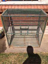Large bird cage. Orange Orange Area Preview