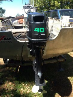 40HP Trim & Tilt Maxus Motor