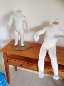 Mannequins children's sizing Derrimut Brimbank Area Preview