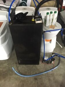 Camec 55l water tank and Shurflo pump Blue Haven Wyong Area Preview