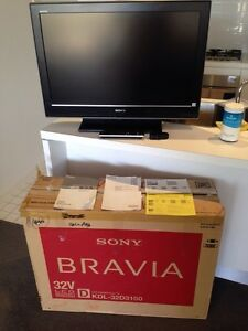 Bravia Sony LCD KDL-32D3100 Colour TV Adelaide Region Preview