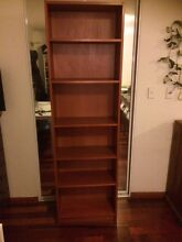 Tall timber bookcase /shelf in excellent condition Campsie Canterbury Area Preview