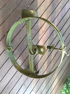 Buick Chev vintage spare wheel carrier - can deliver Bris 19/11