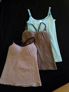 Maternity, nursing, breastfeeding singlets bundle, good condition Hamersley Stirling Area Preview