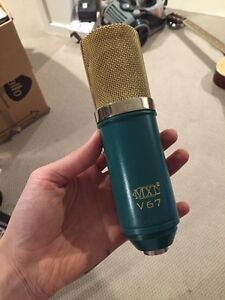 MXL V67 Condenser Microphone Albion Brisbane North East Preview