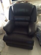 Brand new leather lounge suites 3 seater + single recliners Sippy Downs Maroochydore Area Preview