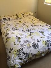 Foldable double bed with mattress Artarmon Willoughby Area Preview