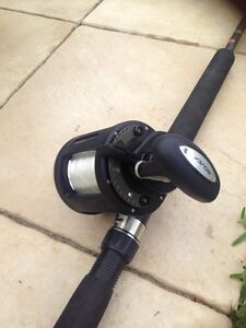 Fishing reel and rod combo Rovex Altus LDT 30 on a Penn Mariner rod Victoria Point Redland Area Preview