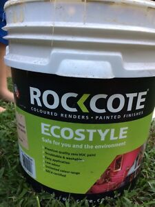 Rockcote Antique White Paint Mapleton Maroochydore Area Preview