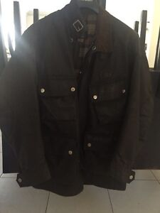 Stagg Oil Skin jacket size small Joondalup Joondalup Area Preview
