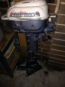 Evinrude 3hp outboard boat motor Nicholls Gungahlin Area Preview