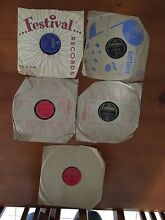 """Old """"78 rpm"""" records Rothwell Redcliffe Area Preview"""