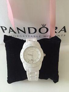Authentic Pandora White Waterproof Watch - Excellent Bracken Ridge Brisbane North East Preview